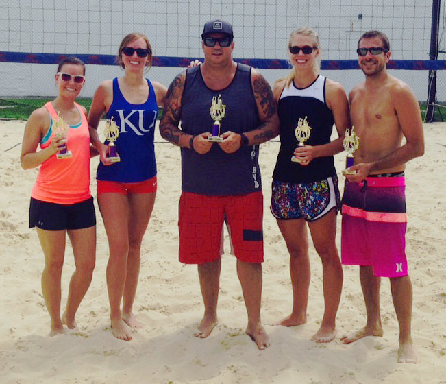 Runners-Up - Chaos Beach Volleyball